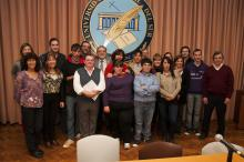 Pasantes, tutores y autoridades en el marco de las pasantías laborales 2014